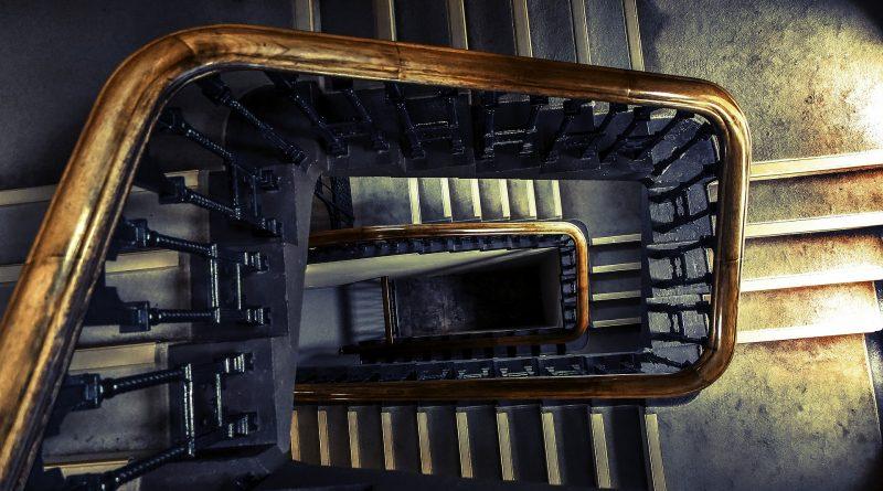 De trap schilderen