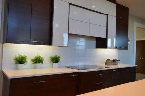 Ook in keukens worden schuifdeuren gebruikt
