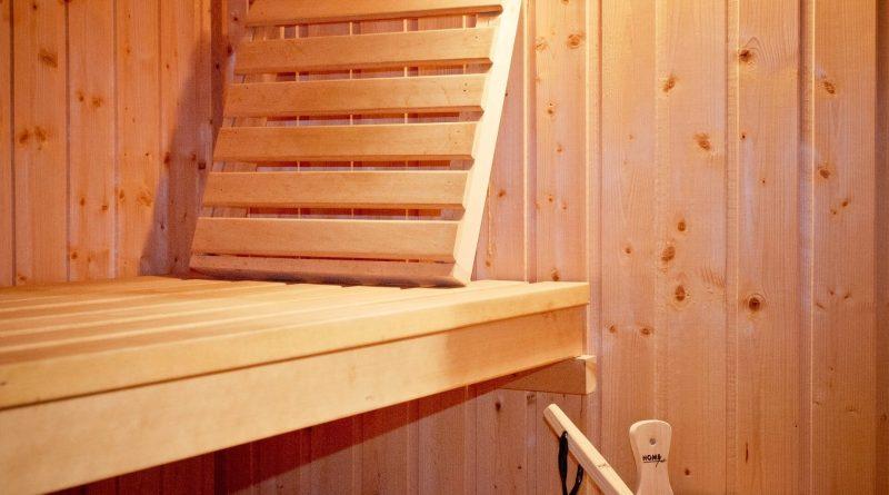 sauna badkamer