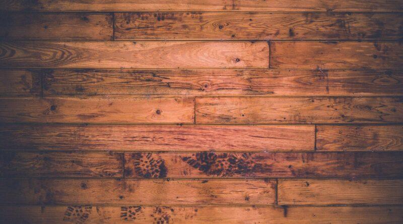 mooie houten vloer
